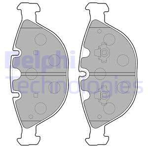 Тормозные колодки передние дисковые MINTEX арт. LP1798