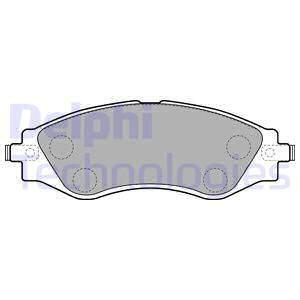 Тормозные колодки передние дисковые MINTEX арт. LP1816