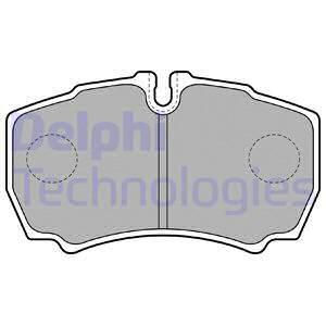 Тормозные колодки дисковые MINTEX арт. LP1826