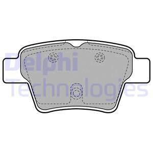 Тормозные колодки задние дисковые MINTEX арт. LP1926