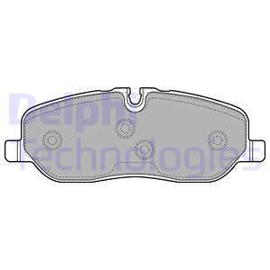 Тормозные колодки дисковые MINTEX арт. LP1935