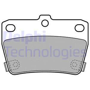 Тормозные колодки задние дисковые MINTEX арт. LP1942