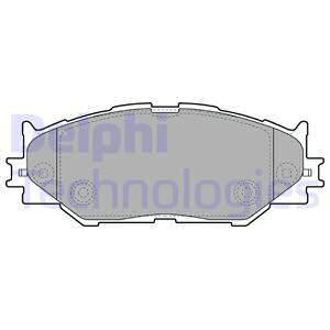 Тормозные колодки дисковые MINTEX арт. LP1977