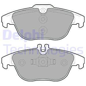 Тормозные колодки дисковые MINTEX арт. LP2029