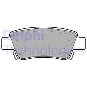 Тормозные колодки дисковые MINTEX арт. LP2047