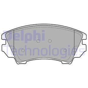 Тормозные колодки передние дисковые MINTEX арт. LP2081