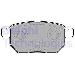 Тормозные колодки дисковые MINTEX арт. LP2105