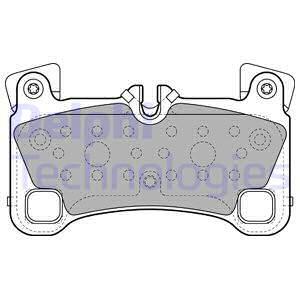 Тормозные колодки задние дисковые MINTEX арт. LP2118