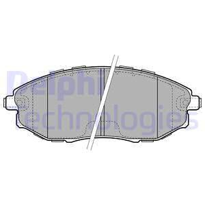 Тормозные колодки передние дисковые MINTEX арт. LP2183
