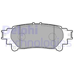Тормозные колодки дисковые MINTEX арт. LP2196