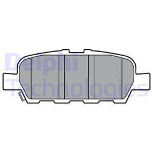 Тормозные колодки дисковые MINTEX арт. LP3375