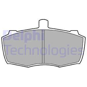 Тормозные колодки передние дисковые MINTEX арт. LP413