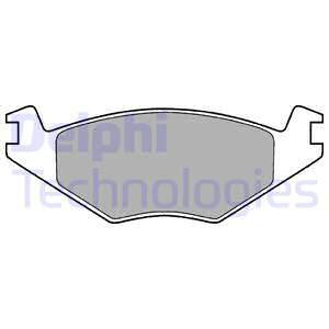 Тормозные колодки дисковые MINTEX арт. LP505