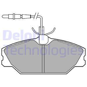 Тормозные колодки передние дисковые MINTEX арт. LP788