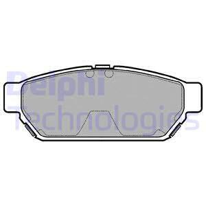 Комплект тормозных колодок MINTEX арт. LP968