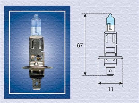 Лампа галогенная PHILIPS арт. 002587100000