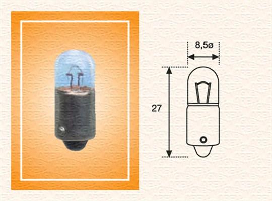 Лампа накаливания, задний габаритный фонарь PHILIPS арт. 002894100000