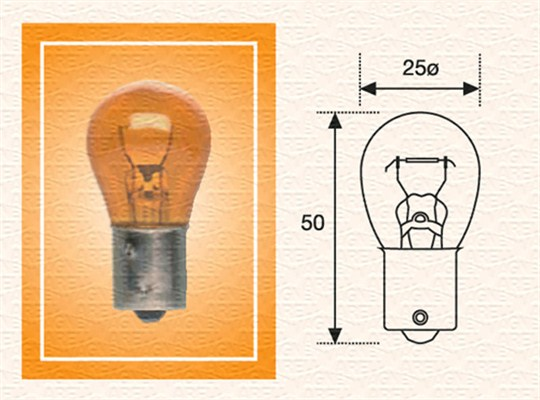 Лампа накаливания PHILIPS арт. 008508100000