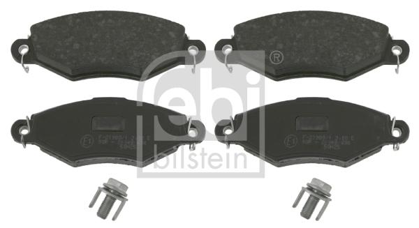 Тормозные колодки дисковые MINTEX арт. 16226