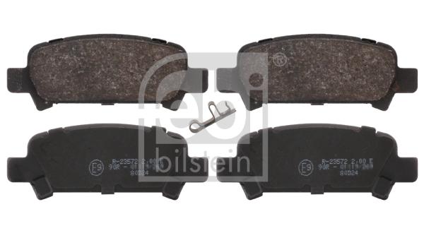 Тормозные колодки дисковые MINTEX арт. 16659