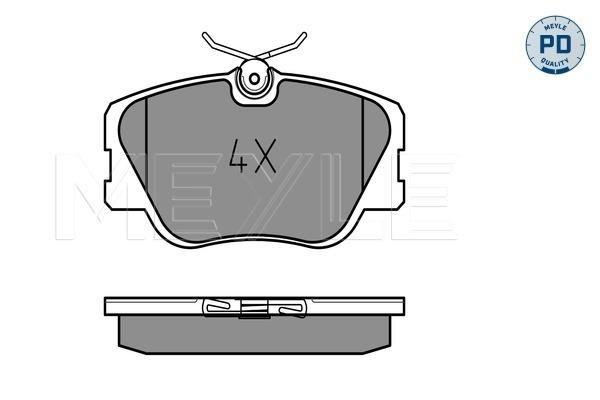 Тормозные колодки передние дисковые MINTEX арт. 025 209 4119/PD