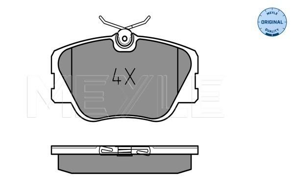 Тормозные колодки передние дисковые MINTEX арт. 025 209 4119