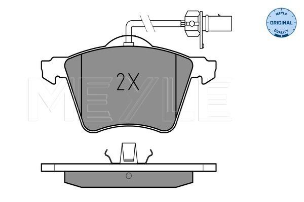 Тормозные колодки дисковые MINTEX арт. 025 210 3419/W