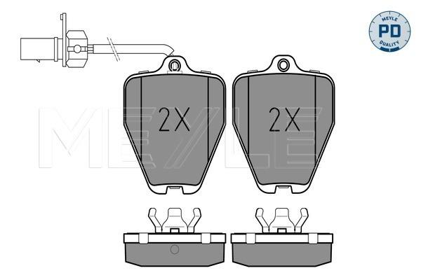 Тормозные колодки дисковые MINTEX арт. 025 214 5218/PD