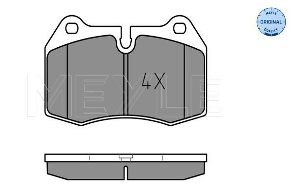 Тормозные колодки передние дисковые MINTEX арт. 025 214 7118