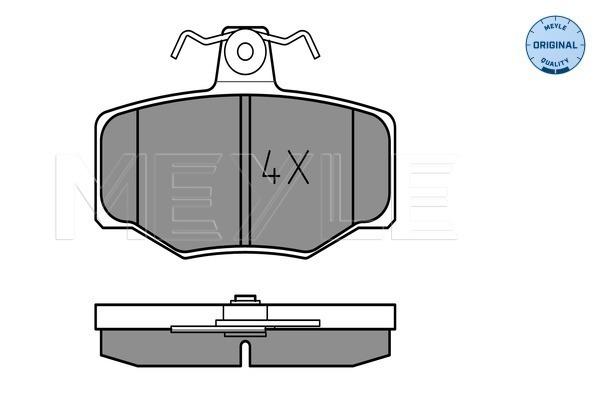 Тормозные колодки дисковые MINTEX арт. 025 215 4515