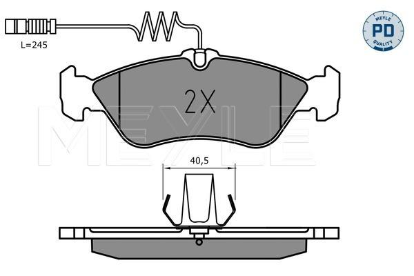 Тормозные колодки дисковые MINTEX арт. 025 215 9218/PD