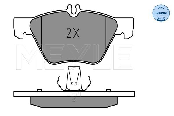 Тормозные колодки передние дисковые MINTEX арт. 025 216 7020