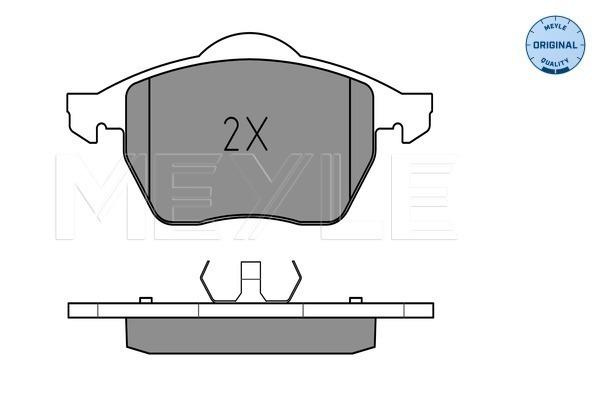 Тормозные колодки передние дисковые MINTEX арт. 025 218 4819