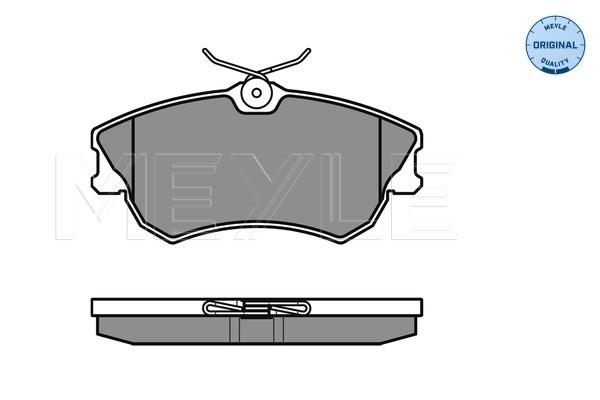 Тормозные колодки передние дисковые MINTEX арт. 025 218 8818