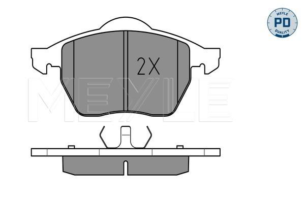 Тормозные колодки дисковые MINTEX арт. 025 219 1119/PD