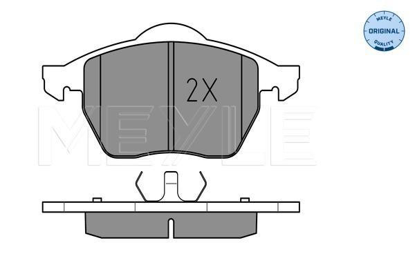 Тормозные колодки передние дисковые MINTEX арт. 025 219 1119