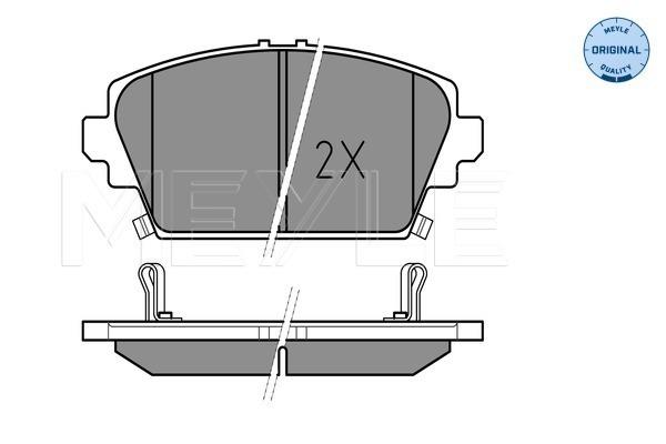 Тормозные колодки передние дисковые MINTEX арт. 025 230 9416/W