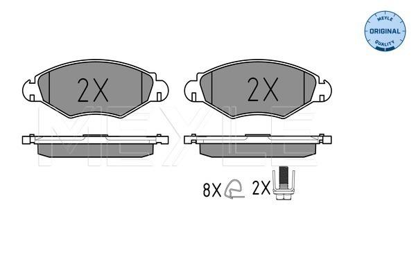 Тормозные колодки дисковые MINTEX арт. 025 235 9718