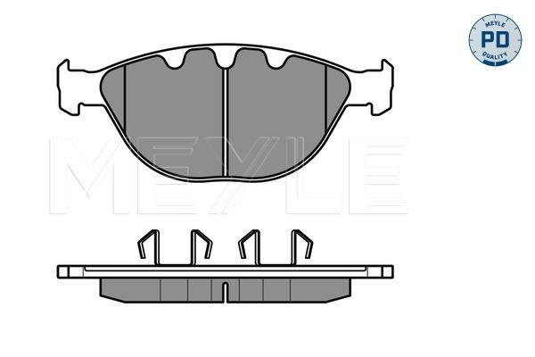 Тормозные колодки дисковые MINTEX арт. 025 237 9120/PD
