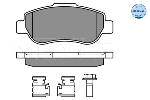 Тормозные колодки передние дисковые MINTEX арт. 025 240 7217/W