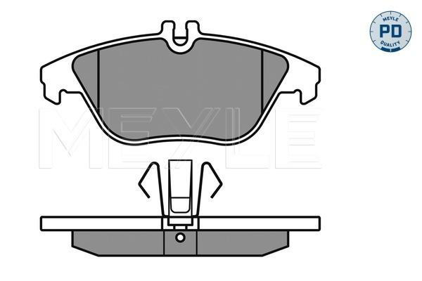 Тормозные колодки задние дисковые MINTEX арт. 025 242 5317/PD