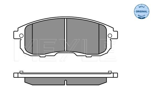 Тормозные колодки дисковые MINTEX арт. 025 242 8016/W