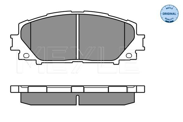 Тормозные колодки передние дисковые MINTEX арт. 025 243 4717
