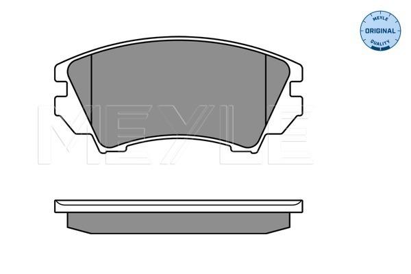 Тормозные колодки дисковые MINTEX арт. 025 244 1219/W
