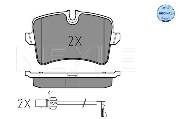 Тормозные колодки дисковые MINTEX арт. 025 246 0617/W