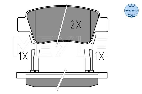 Тормозные колодки задние дисковые MINTEX арт. 025 246 3516/W