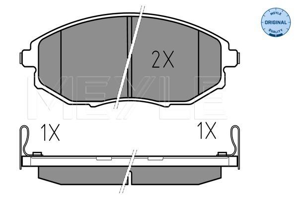 Тормозные колодки передние дисковые MINTEX арт. 025 248 6417/W