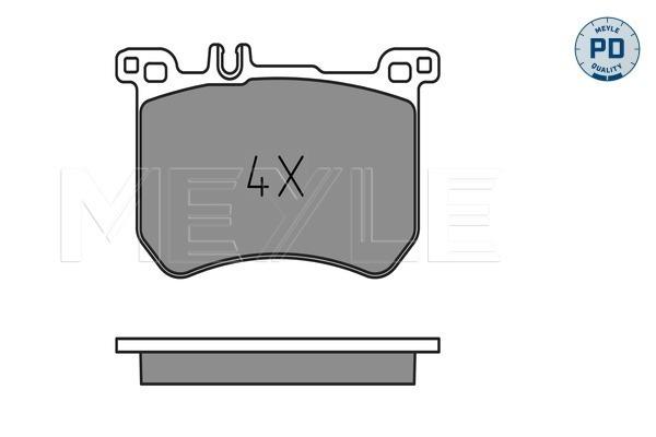 Тормозные колодки дисковые MINTEX арт. 0252518317PD