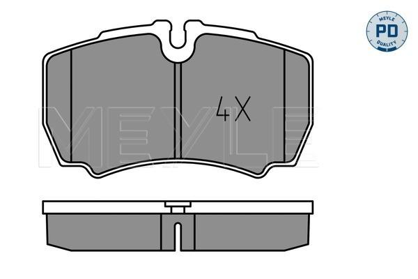 Тормозные колодки дисковые MINTEX арт. 025 291 2320/PD