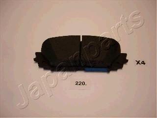 Тормозные колодки дисковые MINTEX арт. PA-220AF
